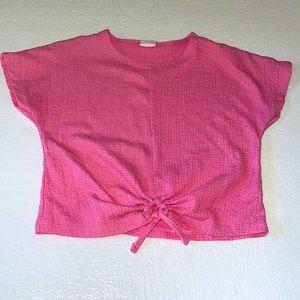 Zara Girls semi crop top